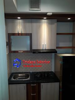 kitchen set-studio-apartemen-Kamala-lagoon-bekasi