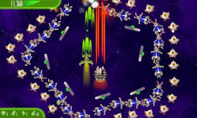 لعبة Chicken Invaders 4 للأندرويد، لعبة Chicken Invaders 4 مدفوعة للأندرويد
