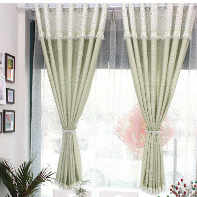 http://www.curtainsmarket.com/pretty-plaid-and-flower-lace-green-kids-curtains-p-707.html