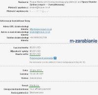 WordLinx — dowód wypłaty