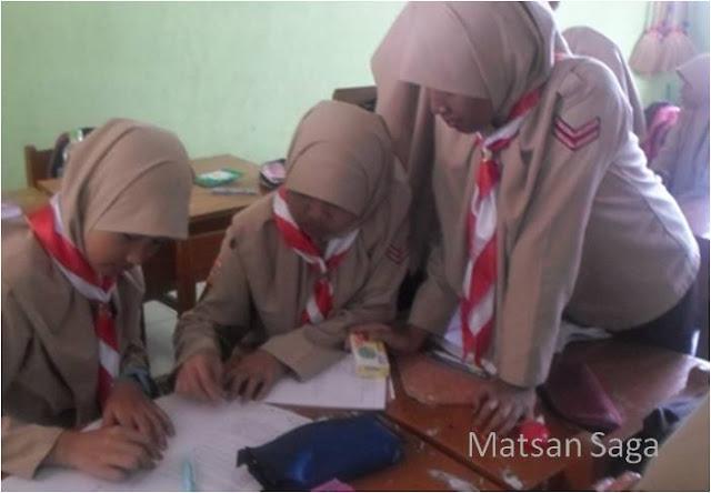 Suasana ruang kelas di Matsansaga