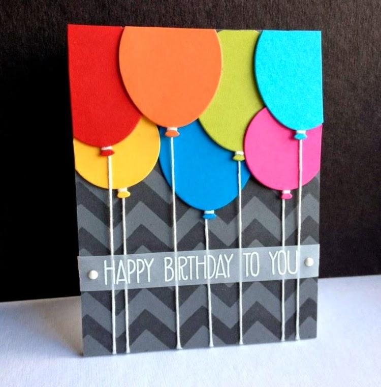 Handmade Birthday Card Ideas Diy