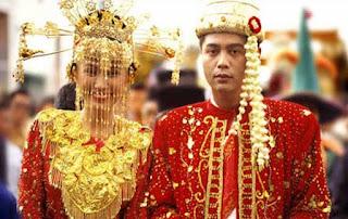 Gambar Pakaian adat pengantin DKI Jakarta betawi