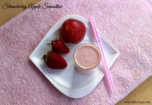 Strawberry Apple Smoothiel