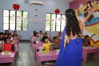 Fully airconditioned Vsi international school