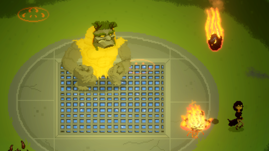 Video games: Challenging Magical Arena Combat with Pixel Art