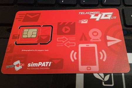 SIM Kartu Perdana Terkomsel