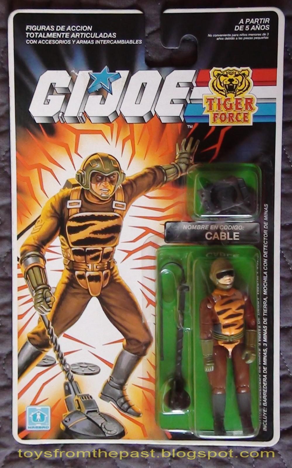 Action Force Figure GI Joe / Tigerforce Tripwire Vintage