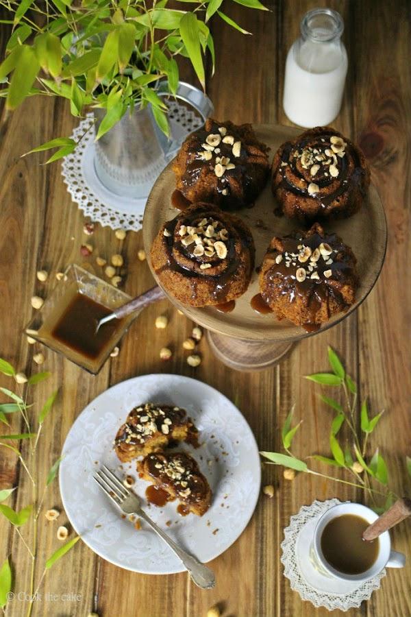 carrot-cake, toffee, bizcocho-zanahoria, hazelnut-cake, avellanas