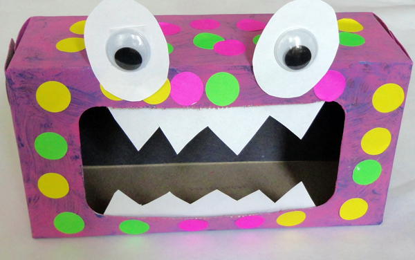 Monster Alphabet Craft & Activity