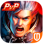Clash for Dawn: Guild War v1.8.2 Apk  Mod [God Mode]