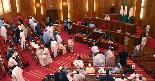 Saraki & Akpabio Clash: Senate In Rowdy Session
