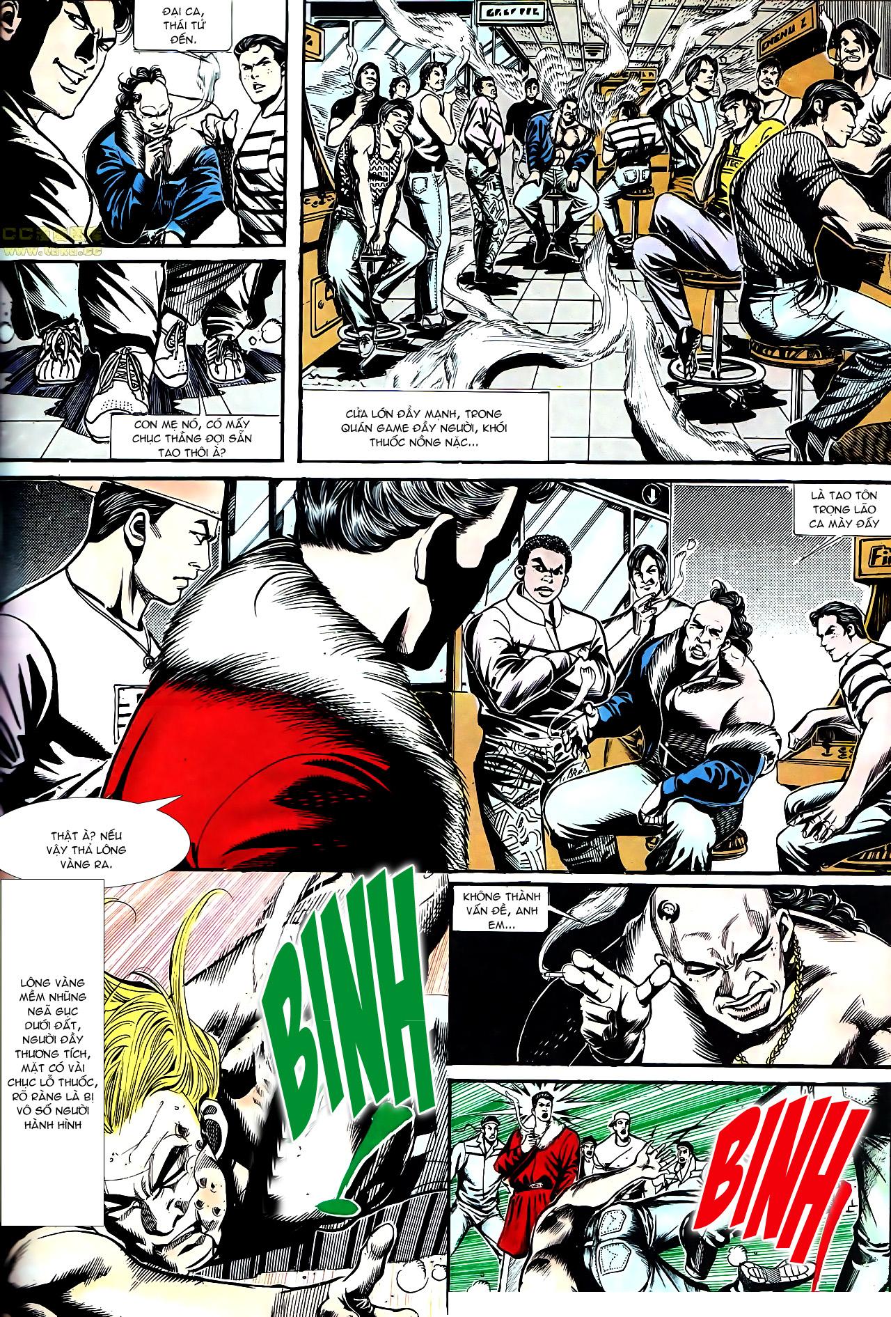 Người Trong Giang Hồ chapter 154: nam đẹp trai trang 11