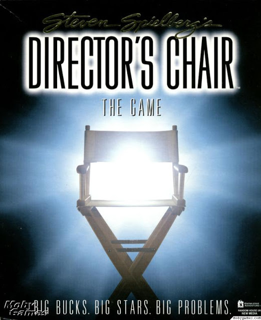 director's chair spielberg
