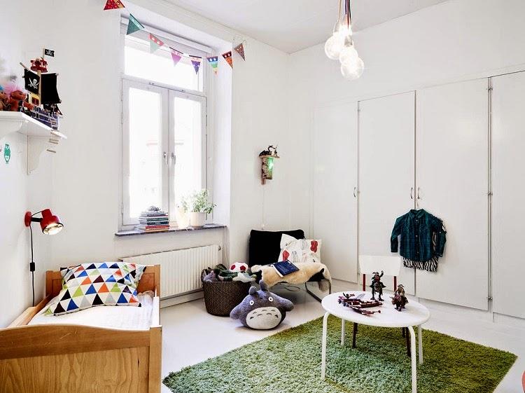 cuarto infantil nórdico