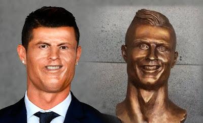 Memes busto Cristiano Ronaldo