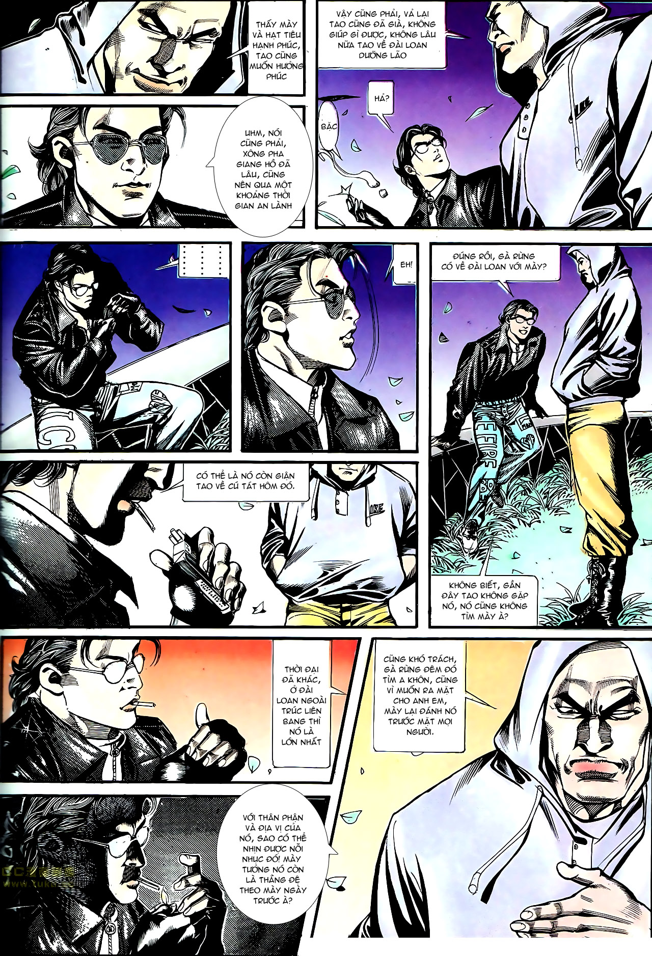 Người Trong Giang Hồ chapter 155: long đầu trang 6