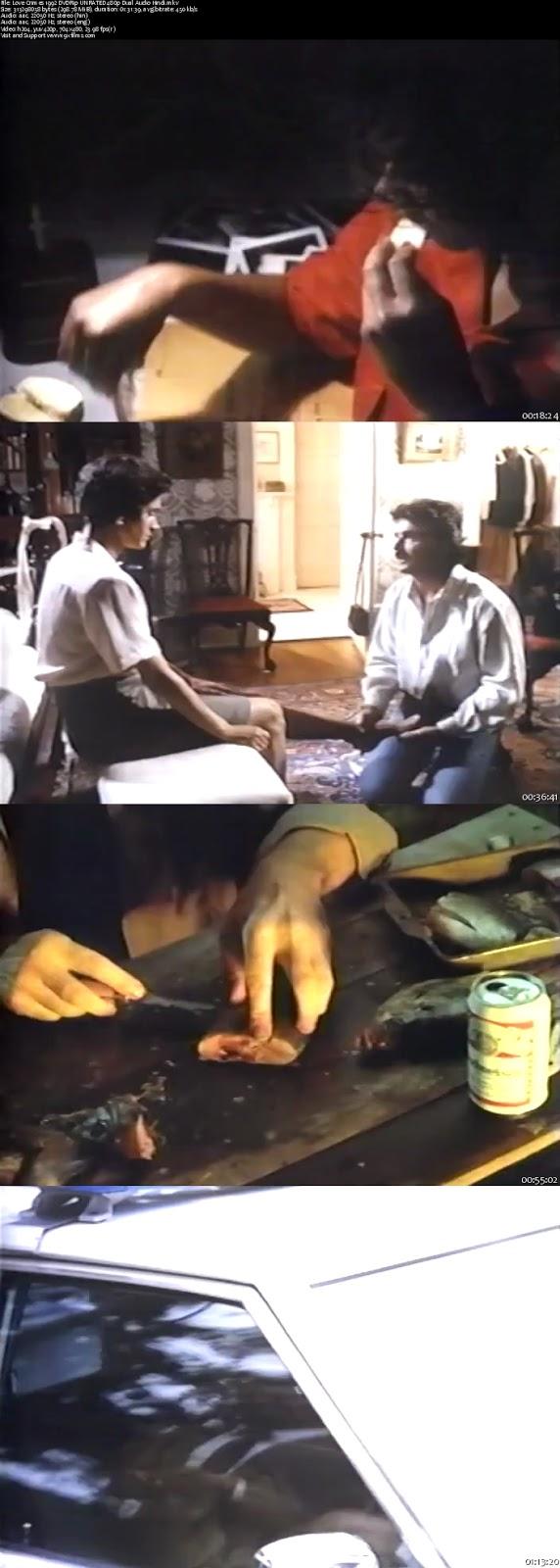 Love Crimes 1992 DVDRip 480p Dual Audio Hindi