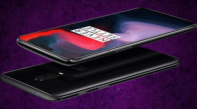 شركة وان بلس تطلق هاتفها الجديد  OnePlus 6 بتصميم زجاجي من الأمام والخلف