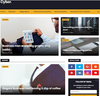 mobile friendly blogger template free