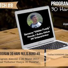 Pelatihan Menulis Online - Pengusaha Kampus Writerpreneur