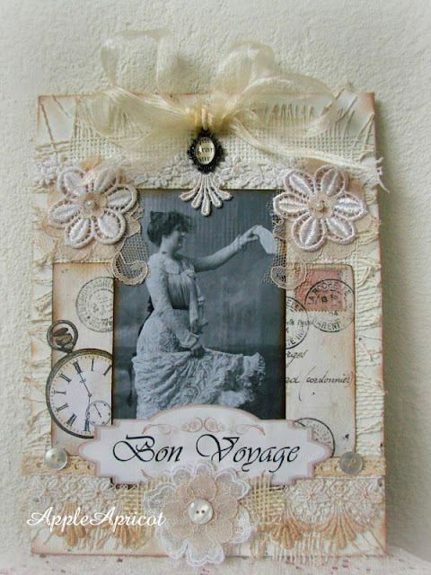 vintage mixed media collage by AppleApricot