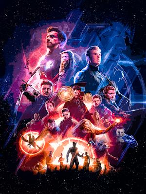 Avengers ENDGAME Posters Textless
