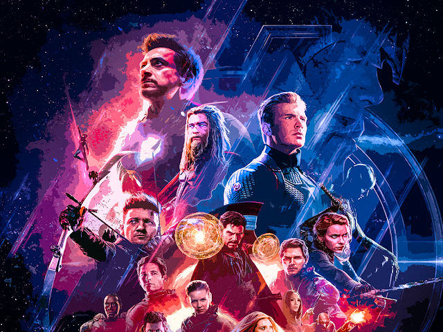 Avengers ENDGAME Posters Textless