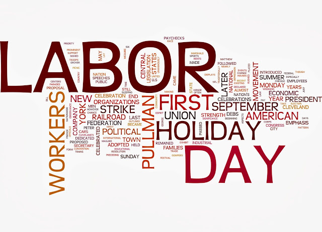 Happy Labor day 2017 Clipart images: