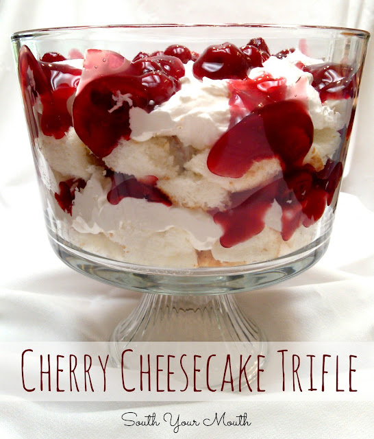 Cherry Trifle With Angel Food Cake