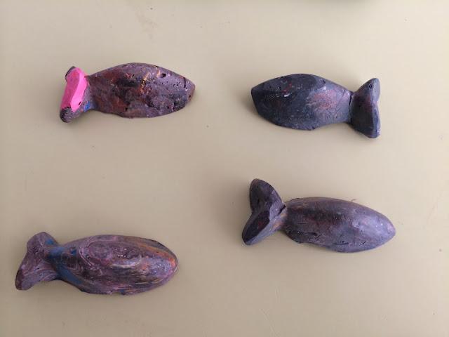 ceras peces DIY