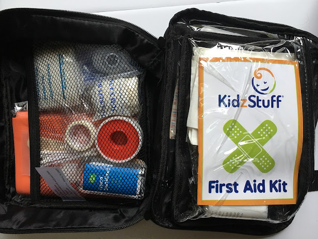 Inside of the KidzStuff First Ad Kit - a full product review plus a promo code