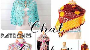 Chales Crochet Moda / Patrones para tejer