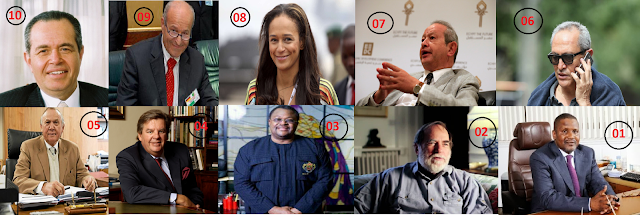 The Top 10 Richest in Africa