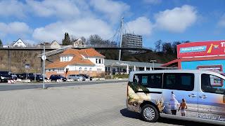 Am Stadhafen Sassnitz Fahrkarten kaufen