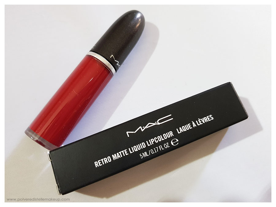Mac Cosmetics RetroMatte Liquid Lipcolour