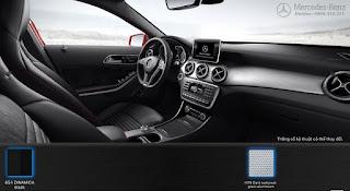 Nội thất Mercedes GLA 250 4MATIC 2015 màu Đen 651