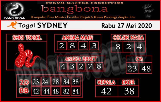Bangbona Togel Sydney