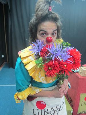 payasa, clown, teatro. teatro para todos los públicos