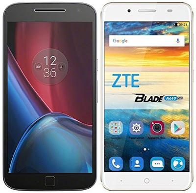 Motorola Moto G4 Plus vs ZTE Blade A610 Plus