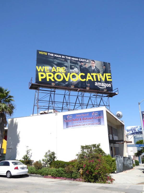 Man in High Castle Provocative billboard