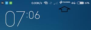 Cara Menampilkan Logo Operator di Status Bar Android