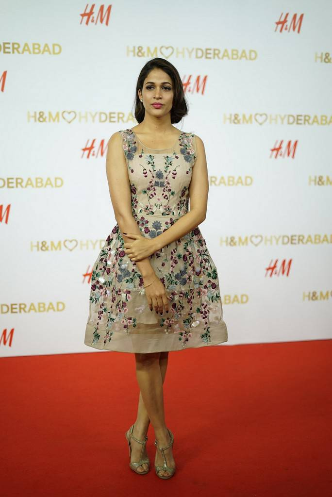 Lavanya Tripathi At H And M Store Launch Stills