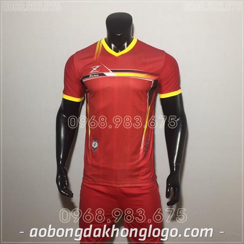 Áo bóng đá không logo Zavikia HAT Zavi màu đỏ
