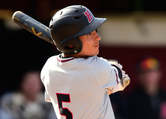 Ethan Lee-Tyson collected two hits for Haverford