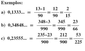 Resultado de imagem para dizima periodica simples e composta