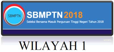Daftar Panitia Lokasi SBMPTN Wilayah 1 Th. 2018