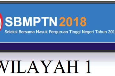 Daftar Panitia Lokasi SBMPTN Wilayah 1