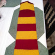 Gryffindor Scarf is Coming Along...