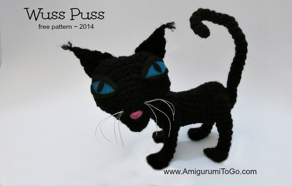 Wuss Puss With Video Tutorial Amigurumi To Go